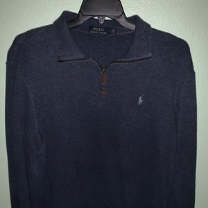 Blue Polo Sweater | Size L & Used |